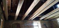 Rekonstrukce sednice, II. etapa: podlaha a strop